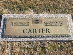 Carrie <I>Hayes</I> Carter