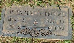 Helen <I>McCall</I> Broome
