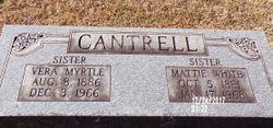 Vera Myrtle Cantrell
