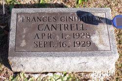 Frances Cinderilla Cantrell