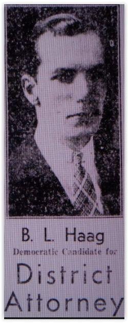 Burritt L. Haag