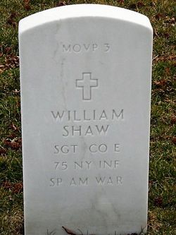 SGT William V Shaw