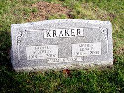 Edna F <I>DeNeff</I> Kraker