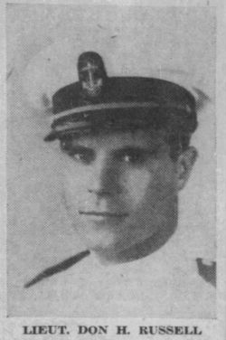 Capt Donald Hanes Russell