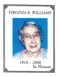 Virginia Ruth <I>Cook</I> Williams