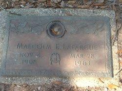 Malcolm Emmet Lafargue