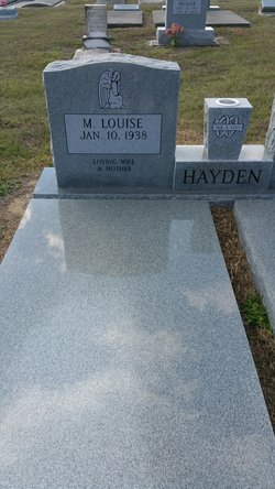 "Mary Louise ""Gigi"" <I>Jones</I> Hayden"