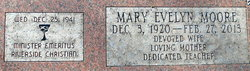 Mary Evelyn <I>Moore</I> Coots