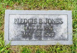 Pledgie B. <I>Dunn</I> Jones