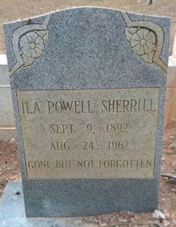 Ila <I>Powell</I> Sherrill