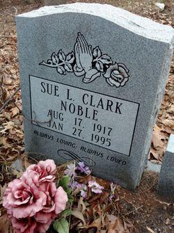 Sue Lassie <I>Clark</I> Noble