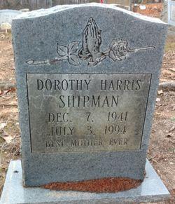 Dorothy <I>Harris</I> Shipman
