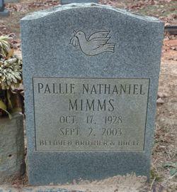 Pallie Nathaniel Mimms