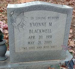 Yvonne M. Blackwell