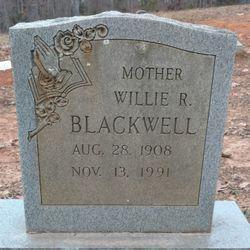 Willie <I>Robertson</I> Blackwell