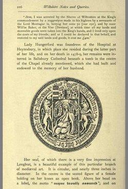 Lady Margaret <I>Botreaux</I> Hungerford