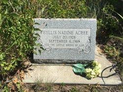 Phyllis Nadine <I>Owens</I> Acree
