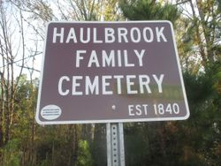 Haulbrook Family Cemetery