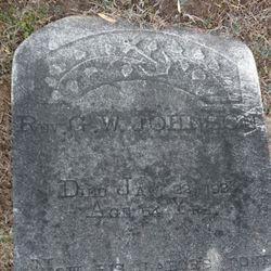 Rev G. W. Johnson
