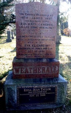 Eva Mary <I>Cameron</I> Weatherall