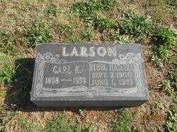Ethel <I>Hackett</I> Larson