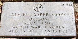 Alvin Jasper Cope