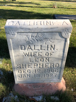 Catherine Ardella <I>Dallin</I> Shepherd
