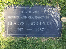 Gladys Loretta <I>Zimmerman</I> Woodside