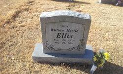 """William Martin """"Marty"""" Ellis"""