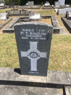 Sapper Patrick Thomas Bolton