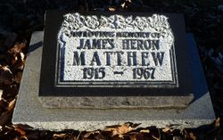 James Heron Matthew