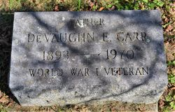 DeVaughn E Carr