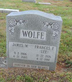 Frances E. <I>Lee</I> Wolfe