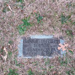 Minnie Jane <I>LeForce</I> Bolton