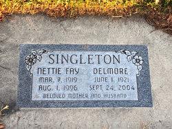 """Nettie Fay """"Nettifee"""" <I>McCloud</I> Singleton"""