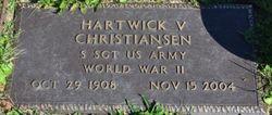 "Hartwick V ""Harvey"" Christiansen"