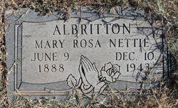 Mary Nettie Albritton