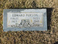 Edward Person