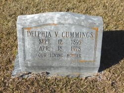 Delphia Viola <I>McBride</I> Cummings