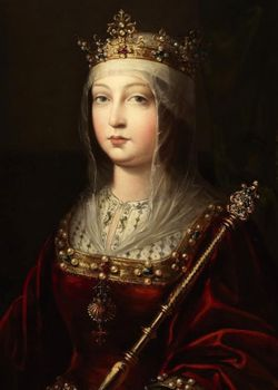 Lady Isabella <I>Perez</I> de Castile