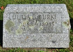 Julia G <I>Phillips</I> Burke