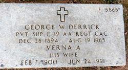 George W Derrick