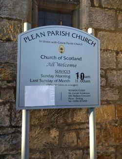 Plean Parish Churchyard