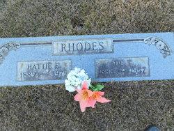 Joe T Rhodes