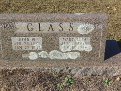 Mary Ella <I>Goodman</I> Glass