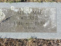 Allie Mae Wicker