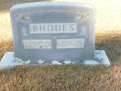 Janie M Rhodes