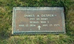 James A Desper