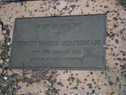 Ernest Waeick Quatermass