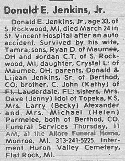 Donald Eugene Jenkins, Jr